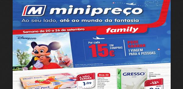 Folheto do Minipreço com as promoções e descontos válido de 20 a 26 de Setembro de 2018 – Folhetos e descontos
