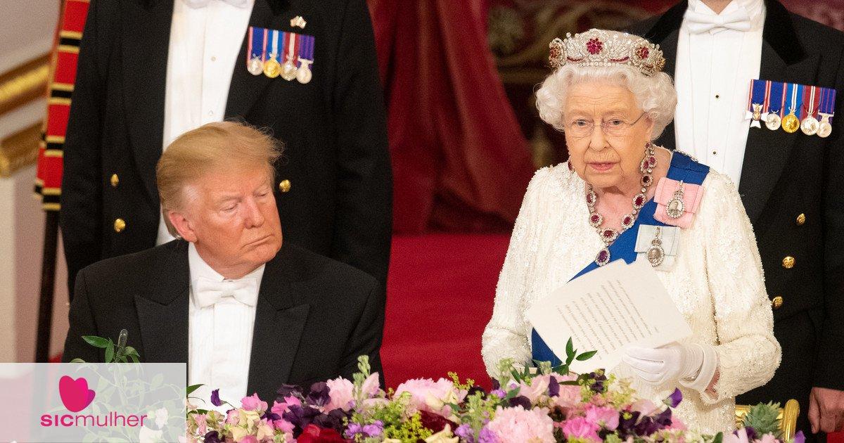 SIC Mulher   Donald Trump adormece durante discurso da rainha Isabel II?